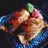 Salmon Belly Aburi