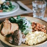 Meat and Eggs Plate