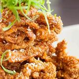 Singaporean Crispy Squid Heads