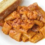 Rigatoni Pasta with Spicy Shrimps