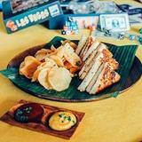 Grilled Parcheesi Sandwich