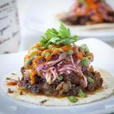 Brisket Sisig Tacos