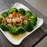 Broccoli Seafood in XO Sauce
