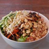 Tahini Quinoa Super Wrap