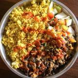 Beef Shawarma Rice Meal