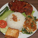 Traditional Indonesian Marinated Fried Chicken