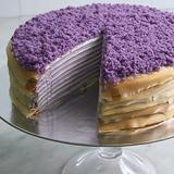 Ultimate Ube Mille Crepe