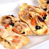 Cheesy Italian Sausage Pizza Roll