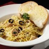 Garlic & Mushroom Spaghetti