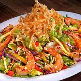 Yin Yang Shrimp Salad