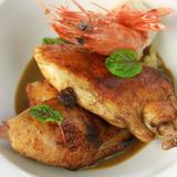 Secondo: Chicken and Prawn