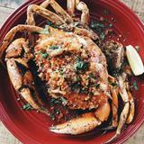 Lemon Garlic Butter Crab