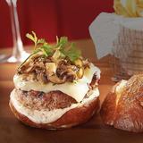 Truffle Burger Wagyu beef with a rich truffle mayo