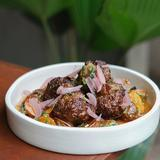 Swedish Meatballs / Potato Salad