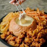 Chicken Cheese Fondue