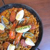 Paella Ilustrado (meat & seafood)