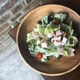 Roadster Pork Belly Salad with Ranch Dressing