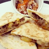 Beef & Cheese Wrap w/ Salsa