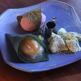 Three Varieties of Assorted Japanese Sweets