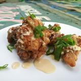 Salted Egg Chicken Poppers
