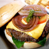 Tuscan Cheeseburger